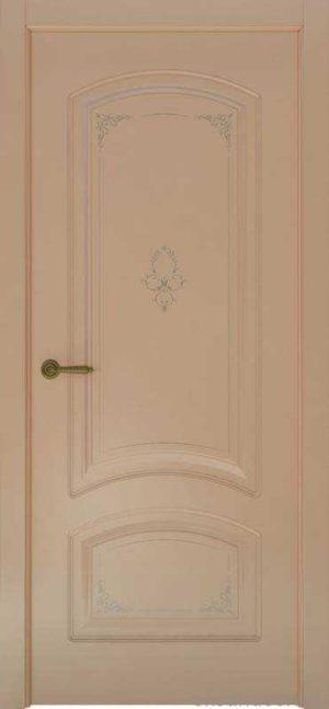 Дверь Океан Provence 4 Flora (капучино, глухая)