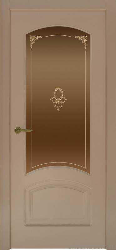Дверь Provence 4 (мокко, стекло бронзовое)
