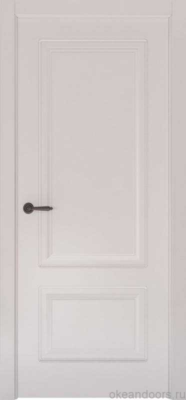 Дверь Океан Provence 2 (белая эмаль, глухая)