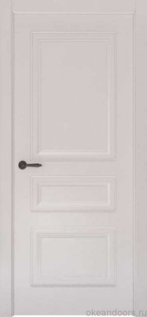 Дверь Океан Provence 3 (белая эмаль, глухая)