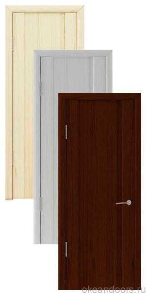 Коллекция дверей Океан Шторм-1 (10 цветов, глухая)