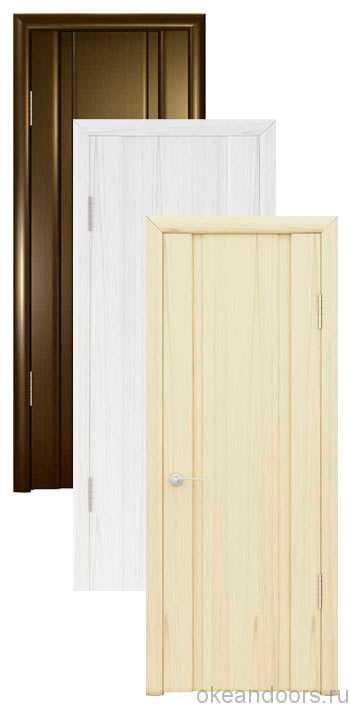Коллекция дверей Океан Шторм-2 (10 цветов, глухая)