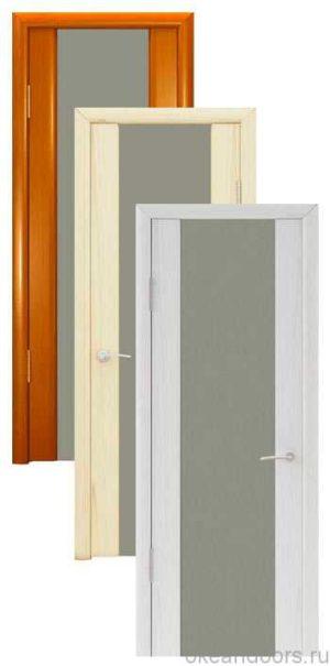 Коллекция дверей Океан Шторм-3 (10 цветов, матовое стекло)