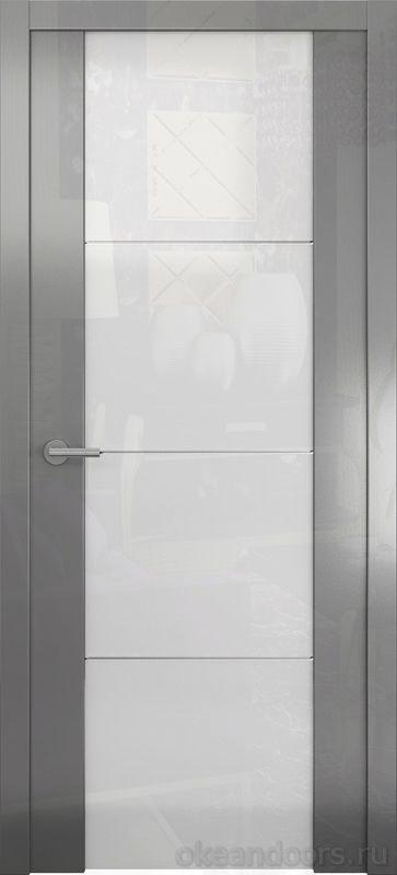 Avorio-2 (глянец / стекло белое / графит)