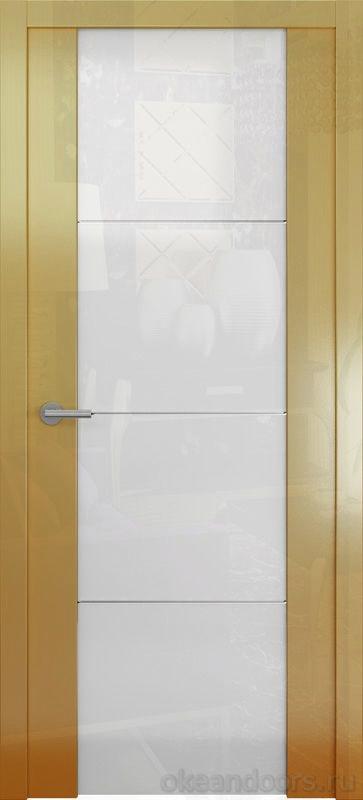 Avorio-2 (глянец / стекло белое/ мокко)