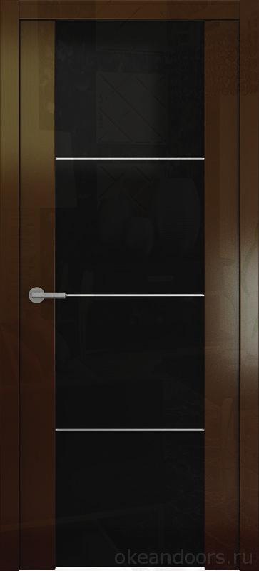 Avorio-2 винтаж глянцевая (стекло тонированное)
