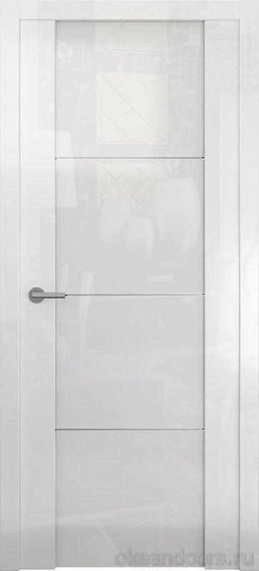 Avorio-2 белое глянцевое (стекло белое)