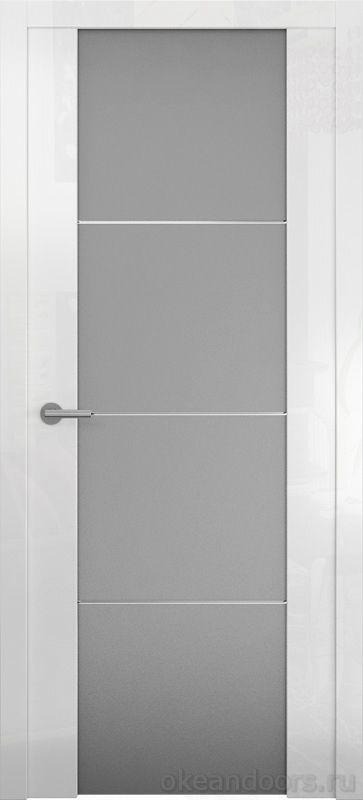 Avorio-2 белое глянцевое (стекло белое матовое)