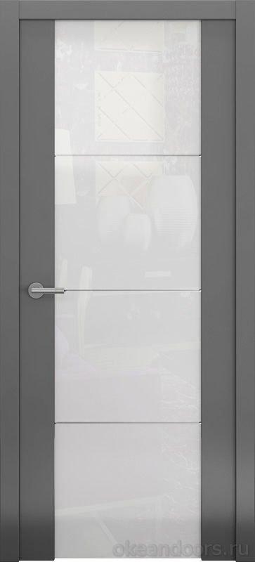 Avorio-2 (матовое / стекло белое белое / графит)