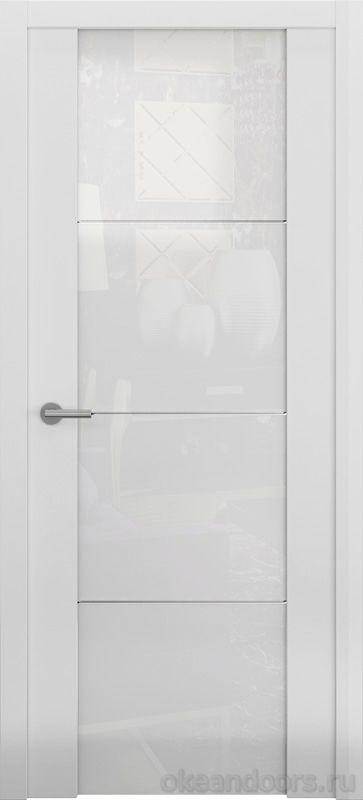 Avorio-2 белая матовая (стекло белое)