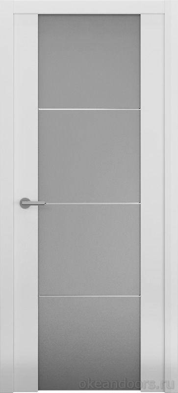 Avorio-2 белая матовая (стекло белое матовое)