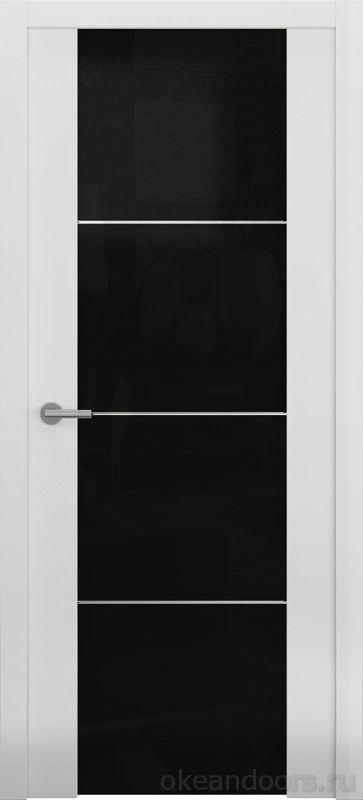 Avorio-2 белая матовая (стекло тонированное)
