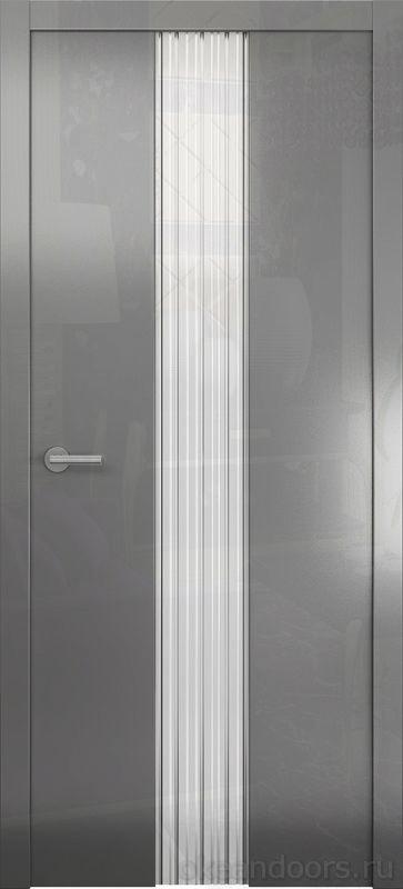 Avorio-3 (глянец / стекло белое / графит)