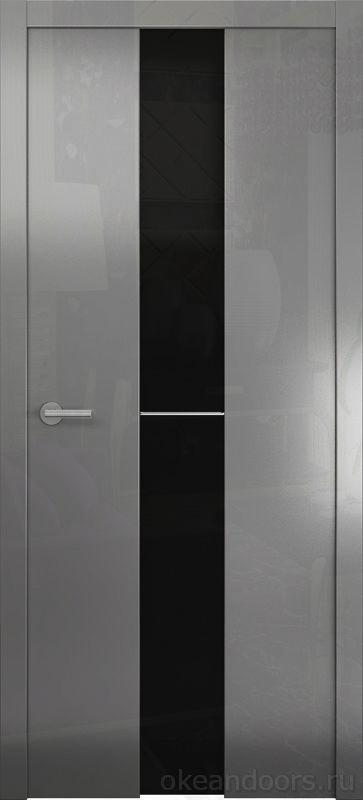 Avorio-4 (глянец / стекло белое тонированное / графит)