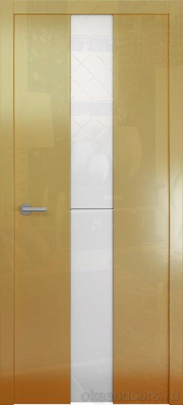 Avorio-4 (глянец / стекло белое / мокко)