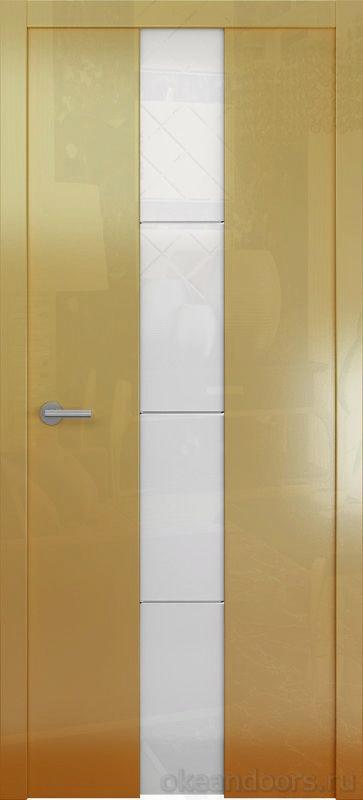 Avorio-5 (глянец мокко / стекло белое)