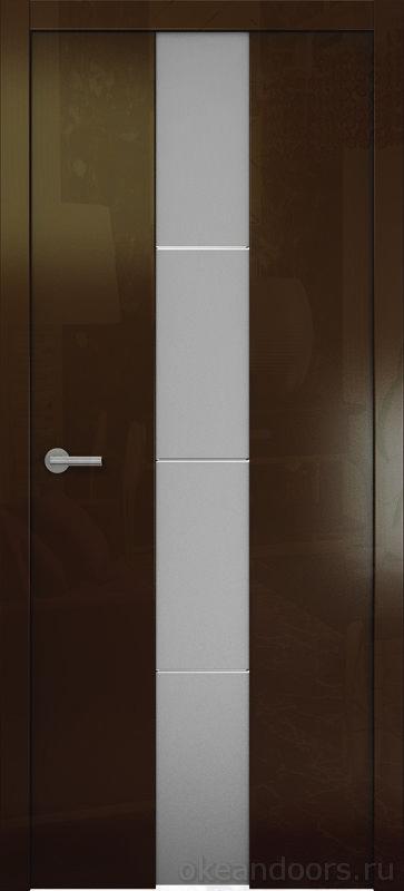 Avorio-5 винтаж глянцевая (стекло белое матовое)