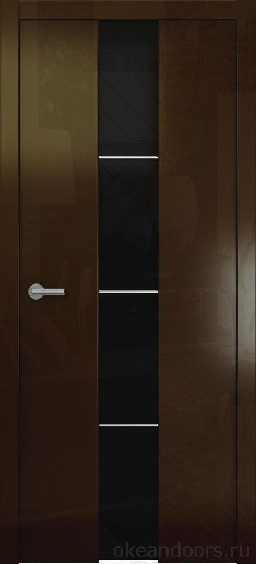Avorio-5 винтаж глянцевая (стекло тонированное)