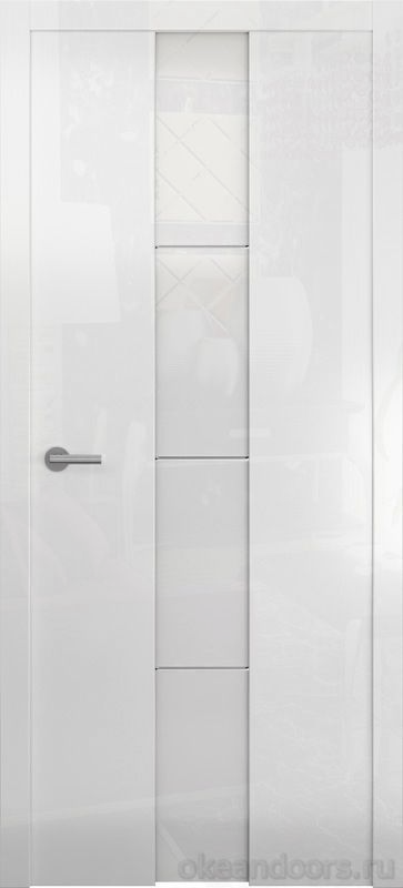 Avorio-5 (глянец белый / стекло белое)