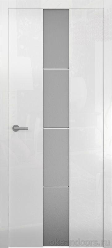Avorio-5 (глянец белый / стекло белое матовое)