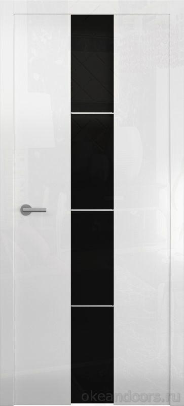 Avorio-5 белое глянцевое (стекло белое матовое)