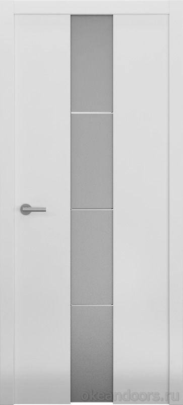 Avorio-5 белая матовая (стекло белое матовое)