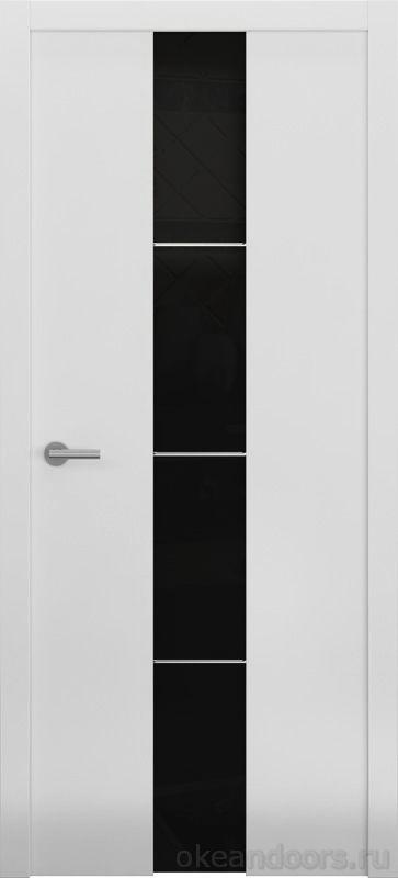 Avorio-5 белая матовая (стекло тонированное)