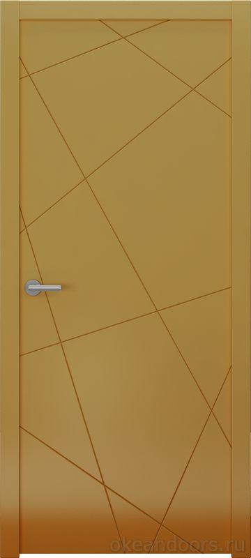 Avorio-6 (мокко матовое, дизайн полотна Line)