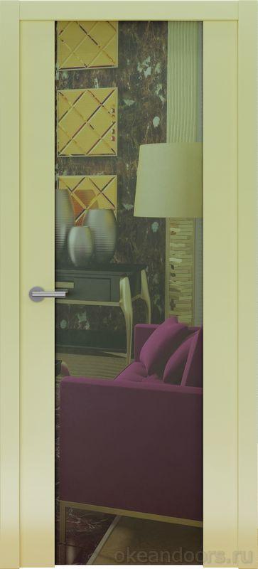 Avorio-7 (кремовое матовое, зеркало)