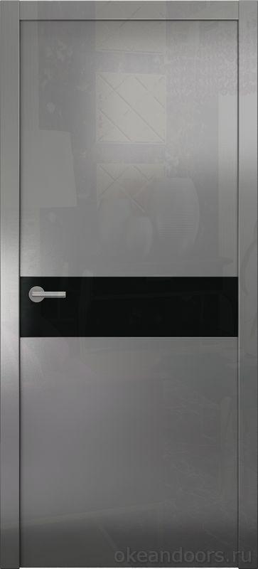Avorio-9 (графит глянцевое / 9 цветов, глянец / черная стеклянная вставка)