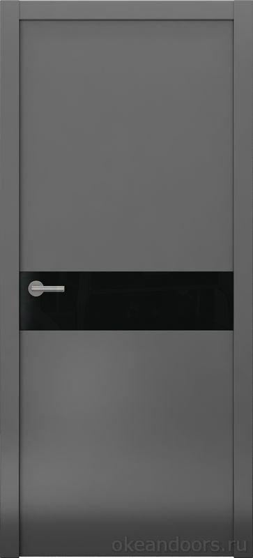 Avorio-9 (графит матовое / 9 цветов, глянец / черная стеклянная вставка)
