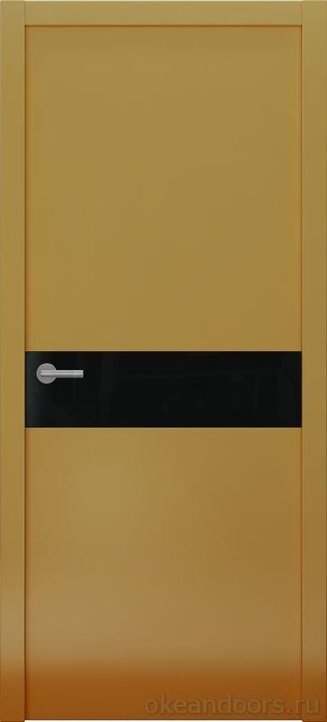 Avorio-9 (мокко матовое / 9 цветов, глянец / черная стеклянная вставка)