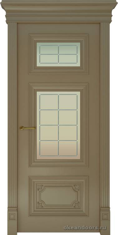 Dinastia-3 (стекло Решетка, мокко)