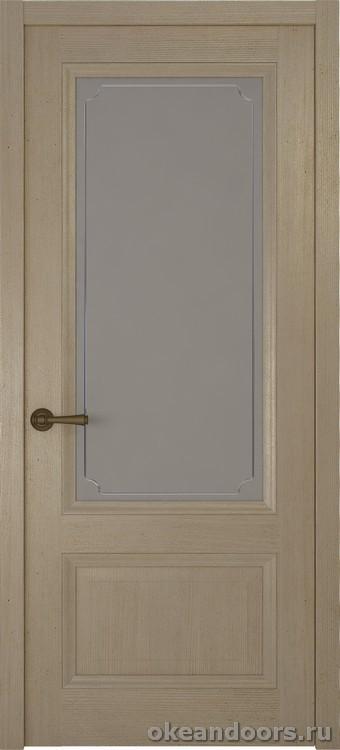 Riva classica, дуб натуральный стекло белое Рамка