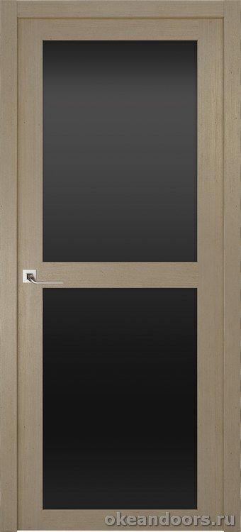 Riva Prima 2, стекло черный триплекс, дуб натуральный