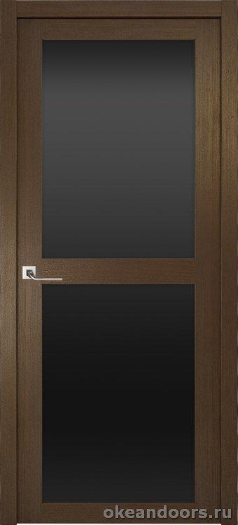 Riva Prima 2, стекло черный триплекс, дуб табачный